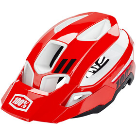 100% Altec Casco, red